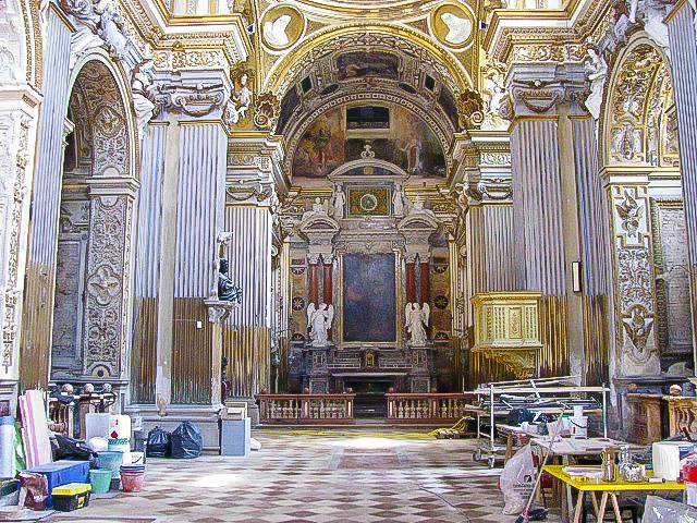 La chiesa di san pietro in valle a fano galleria di rare - Pitture da interno ...